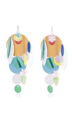 Sequin Earrings by CHRISTOPHER KANE for Preorder on Moda Operandi
