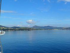 The beautiful Cote D'Azur.