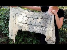 How to Crochet Lacy Scarf, Lacy Leaves Mohair and Silk Yarn Shawl, Crochet Video Tutorial - YouTube Crochet Lacy Scarf, Crochet Top, Crochet Things, Sewing Crafts, Diy Crafts, Crochet Videos, Diy Fashion, Pattern, Leaves