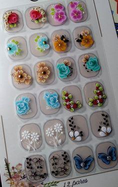 3d Nail Art, 3d Nails, Acrylic Nails, Manicure And Pedicure, Nail Designs, Manicure Ideas, Nail Stuff, Cat Nails, Cute Nails