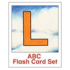 ESL Flash Cards-ABCs 1 - These fanciful ABC cards, by Robert Kinney, were among the first offerings by Kinney Brothers Publishing.  A good set of ABC cards is worth its weight in gold to any ESL teacher teaching young kids.
