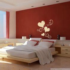 Stickers muraux pour chambre - Sticker mural Bulle de cœur | Ambiance-sticker.com
