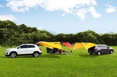 한국지엠이 캠핑 마니아들을 위해 10월 12일과 13일 양일간 경기도 연천군 '땅에 미소 오토캠핑장'에서 '제5회 쉐보레 RV 패밀리 오토캠핑'을 개최