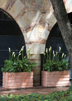 Ellis Weather Terracotta Resin Planters
