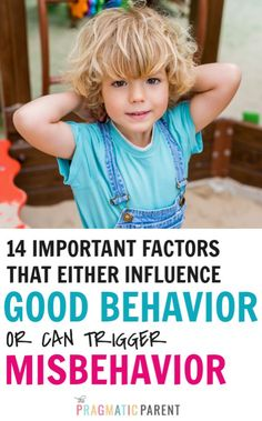 What factors influence children's behavior and trigger misbehavior including tantrums, outbursts and back talk? 14 Factors that Trigger Challenging Behavior Gentle Parenting, Parenting Advice, Kids And Parenting, Sibling Relationships, Relationship Goals, Behavior Management Strategies, Positive Parenting Solutions, Act For Kids, Toddler Behavior