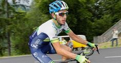 Adam Yates - with the face warmer you can no longer confuse him with twin brother Simon