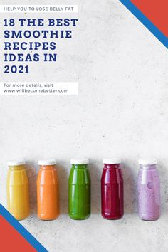 Healthy Smoothie Recipes for a Filling, Energizing Breakfast in 2021. They're packed with nutrient-rich ingredients to start your day strong. By Your Blender #smoothies #healthysmoothie