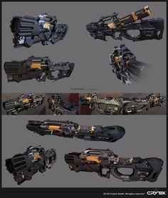 Crysis Typhoon Minigun Prop
