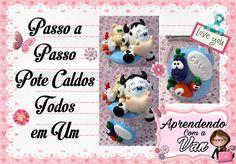 (DIY) PASSO A PASSO POTE PARA CALDOS TODOS EM 1 MARATONA POTES #2