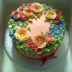Rose cake | Flickr: Intercambio de fotos