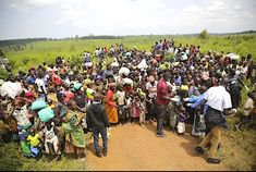 The government of Uganda has decided to temporarily reopen two of its borders to welcome refugees from neighboring DR Congo. Un Refugee, Mental Health Support, Safe Haven, Water Tank, Republic Of The Congo, Vulnerability, The Locals, Uganda, Life