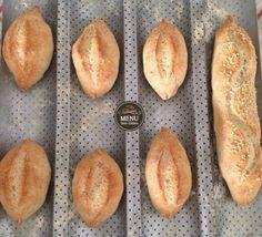 Pão francês integral sem glúten e sem lactose