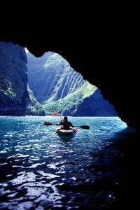 I can't even imagine canoeing somewhere as beautiful as this