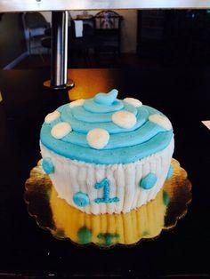 Baby Mickey Cake #cake #mickeycake #mickeymousecake #babymickeycake www.enchantingcake.com