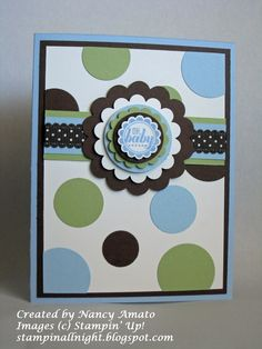 Stampin' All Night --- the card is very Jaylene like -- totally have to make this one!