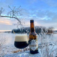 """@tornionpanimo on Instagram: """"Winter is coming ❄️ Tässä jouluisa porterimme Tornionjoen rannalla. Millaisen porterin toivoisit meidän tekevän seuraavaksi? #tornionpanimo…"""" Beautiful Scenery, Most Beautiful, Beautiful Places, Craft Beer Brands, Brewery, Saga, Traveling, Journey, History"""