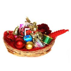 Perfect gift to delight your loved ones on the occasion of Christmas. http://www.tajonline.com/christmas-gifts/product/x1199/blessed-christmas-basket/?aff=pint2013/