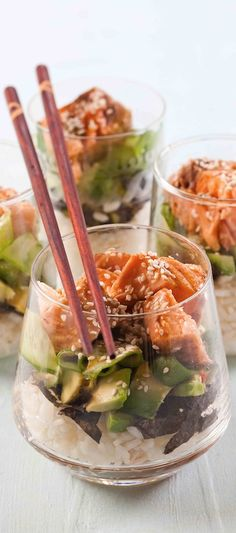 Sushi Salad - lunch time! #Fashiolista #Inspiration