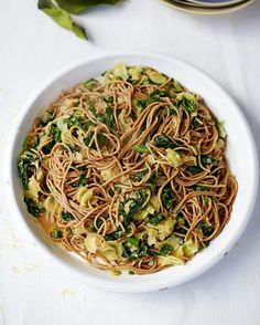 Another fish dish for you all! Beautiful sardine spaghetti is from my regular Healthier Happier You column in @jamiemagazine. Proper winning midweek dinner thats super good for you - oily fish is packed with omega-3 fatty acids essential for brain and heart function. recipes in this month mag guys xx #JamieOliver # by jamieoliver