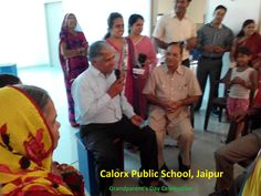 Grand Parent's Day celebration - CPS jaipur