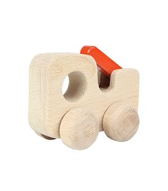 Natural Fire Truck From Masterkidz from The Wooden Toybox