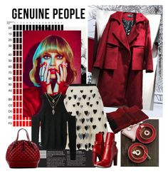 """""""Genuine-People 13."""" by carola-corana ❤ liked on Polyvore featuring Alice + Olivia, COSTUME NATIONAL and Genuine_People"""
