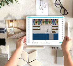 A Professional Design tool to create a beautiful home Presentation Example, Interior Design Presentation, Interior Design Business, Tool Design, App Design, Tile Layout, Tile Installation, Designs To Draw, Beautiful Homes