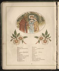 The Language of Flowers, by Kate Greenaway. 1884