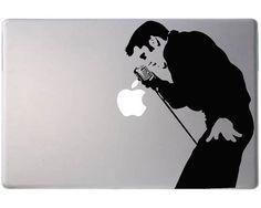 Elvis Vinyl Laptop Decal by VinylTherapy on Etsy, $6.99