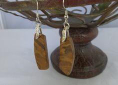 Beautiful onyx earrings by JoycesCustomGems on Etsy, $32.99