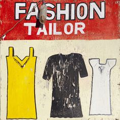 Tailor Sign, Somaliland by Eric Lafforgue