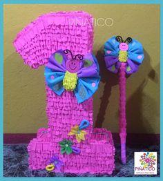 Piñata Silueta ,,,TEMA Mariposas