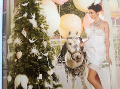 More from domain.... Gorgeous white  (& handy if u want to decorate a horse!)