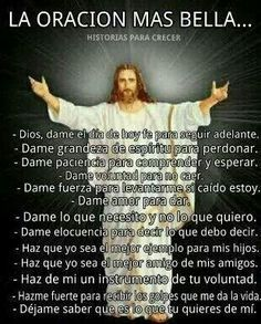 Prayer Verses, God Prayer, Prayer Quotes, Bible Quotes, Bible Verses, Immaculée Conception, Spanish Prayers, Catholic Religion, Catholic Saints