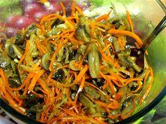 Грибы по-корейски - Простые рецепты Овкусе.ру