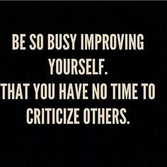 Get busy...