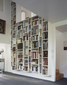 4 Limitless Tips: Large Floating Shelf Display floating shelves dining basements.How To Build Floating Shelves Built Ins floating shelf over couch rugs.How To Build Floating Shelves Built Ins. Casa Patio, Interior And Exterior, Interior Design, Design Interiors, Kitchen Interior, Kitchen Design, Book Wall, Home Libraries, Public Libraries
