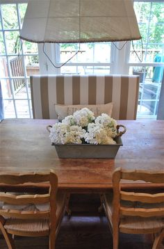 kitchen table centerpiece. diy porch light to centerpiece | battery operated, craft and dollar store crafts kitchen table