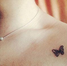 Las 33 Mejores Imágenes De Tatuajes De Mariposas En 2017 Small