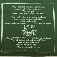 Some metta phrases for you this morning  #metta #lovingkindness #kindness