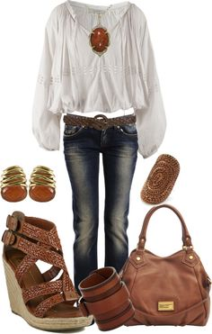 """""""Slouchy Day Out"""" by alerogirl ❤ liked on Polyvore"""