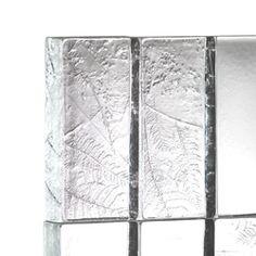 Mattoni in vetro | Herbarium | Verre décoratif | Poesia