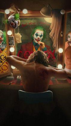 Joker Getting Ready IPhone Wallpaper - IPhone Wallpapers