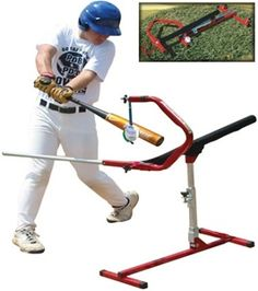 The Fold-N-Go Power Drive Batting Tee is the only tee that eliminates the four common problems that hitters develop of over striding, lunging… Baseball Hitting Drills, Softball Pitching Machine, Basketball Training Equipment, Baseball Training, Batting Cage Backyard, Backyard Baseball, Batting Tee, Basketball T Shirt Designs, Swing Trainer