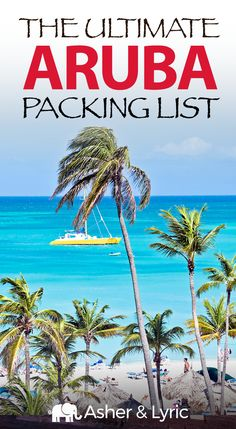 17 Top Aruba Packing List Items + What to Wear & NOT to Bring. Arrive in Aruba with exactly what you need - and still have room for souvenirs! Our packing list includes travel outfits for Aruba, what NOT to take, and the answers to tons of Aruba FAQs. Beach Vacation Packing List, Honeymoon Packing, Packing List For Cruise, Packing List For Vacation, Packing Lists, Europe Packing, Traveling Europe, Vacation Deals, Backpacking Europe