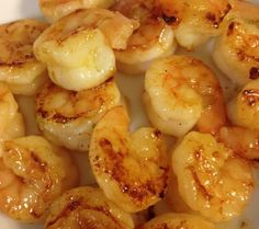 Honey Lime Shrimp. SO SO VERY good. I make some variation of this every couple weeks!