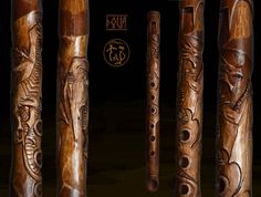 This flute is created from Altai cedar. Scale: A-dur. Length: 360 mm Width: 28 mm The diameter of the channel: 20 mm Number of holes: 6 Playing range: 1.5 octaves Work to order! Attention! I do not repeat exact copies of works! I perform in a similar style, but I do not copy! I am an