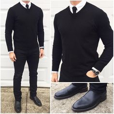 All Black ⚫️⬛️ I know I've posted this outfit before, but I had a big meeting today and this outfit...