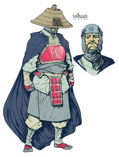 Takeshi Tatsuo of Yuu_character design by Santolouco.deviantart.com