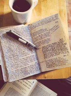 Writing in Notebooks - vagabroadjournals